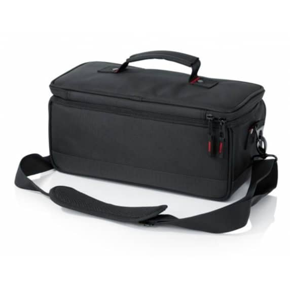 Gator G-MIXERBAG-1306 Padded Carry Bag For Midas MR12, MR18, and Behringer X Air Series Mixers