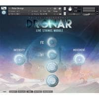 Gothic Instruments DRONAR Live Strings (Serial Download)