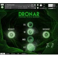 Gothic Instruments DRONAR Vintage Synth (Serial Download)