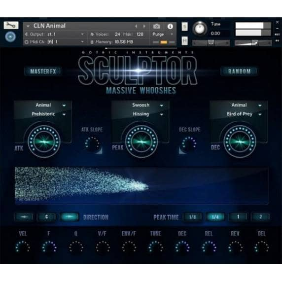 Gothic Instruments SCULPTOR Massive Whooshes (Serial Download)