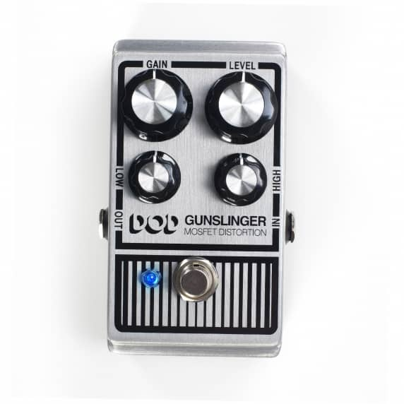 Gunslinger Mosfet Distortion Pedal