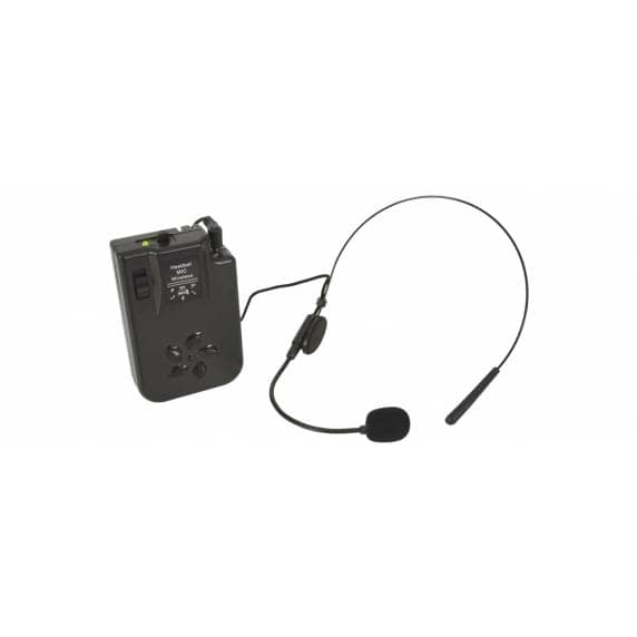 Headset Microphone for Busker, Quest & PAL Portable PA Units - 175.0Mhz