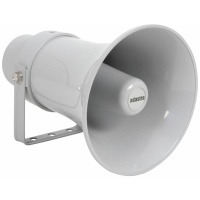 Adastra Heavy Duty Round Horn Speaker, 100V Line, 15W