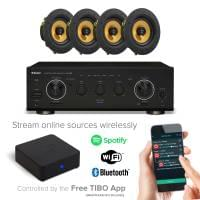 Inta Audio Home Entertainment Sound System with Bluetooth, Wi-Fi & Spotify Ready