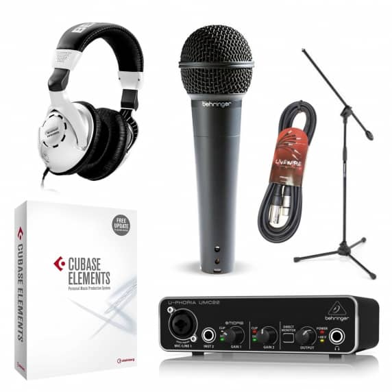 Home Studio Recording Bundle