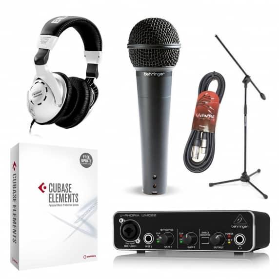 Home Studio Recording Bundle