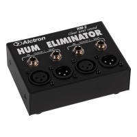 Alctron Hum Eliminator & D.I Box - Removes AC Hum & 60Hz Buzz/Noise