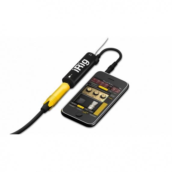 Yatour Electronicx Multimedia Adapter: IK Multimedia Amplitube IRig Guitar / Bass For IPhone