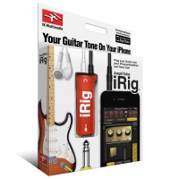 IK Multimedia AmpliTube iRig Guitar - Limited Edition Red - for iPhone/iPod/iPad - B STOCK