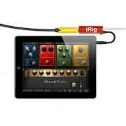 IK Multimedia AmpliTube iRig Guitar - Limited Edition Red - for iPhone/iPod/iPad