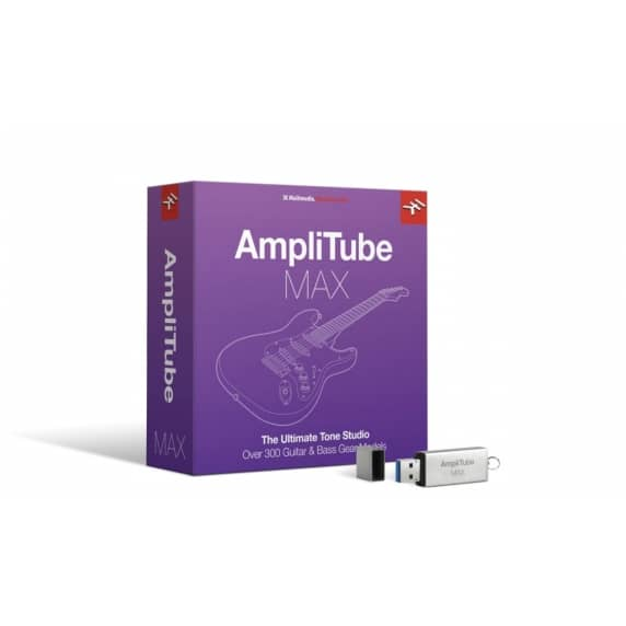 IK Multimedia AmpliTube Max Guitar/Bass VST (Serial Download)