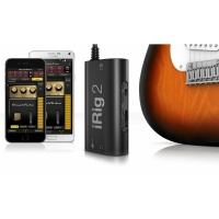 IK Multimedia iRig 2 - Guitar Interface for iPhone, iPad Android - B Stock