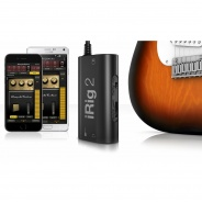 IK Multimedia iRig 2 - Guitar Interface for iPhone, iPad, Mac & Android