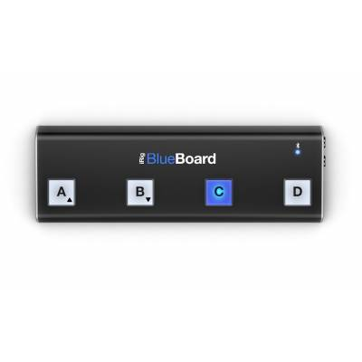 ik multimedia irig blueboard midi pedalboard controller for iphone ipad and mac. Black Bedroom Furniture Sets. Home Design Ideas