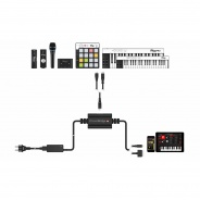 IK Multimedia iRig PowerBridge - Universal Charging Solution for iRig Devices