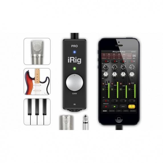 ik multimedia irig pro advanced ios audio interface ik multimedia from inta audio uk. Black Bedroom Furniture Sets. Home Design Ideas