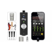 IK Multimedia iRig PRO - Advanced iOS Audio Interface