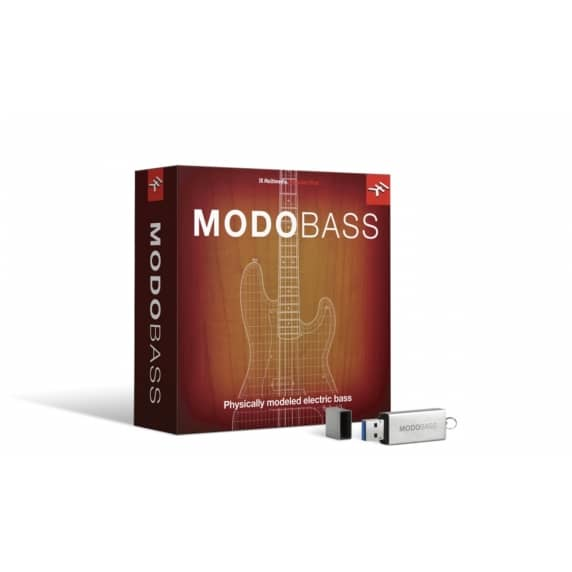 IK Multimedia Modo Bass PC/Mac Software Instrument (Serial Download)