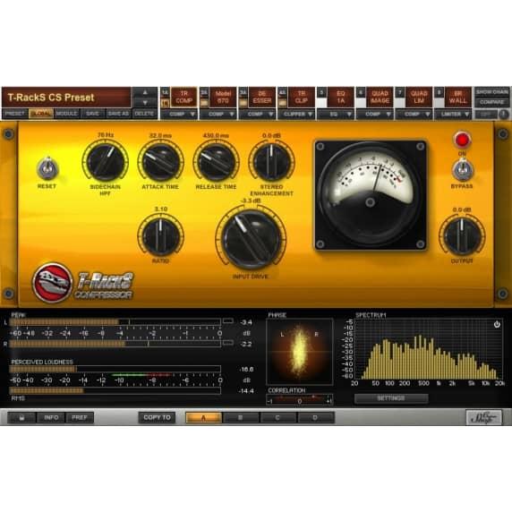 IK Multimedia T-RackS Classic Mastering Software (Serial Download)