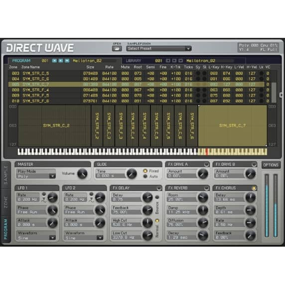 Image Line DirectWave Sampler Instrument (Serial Download)