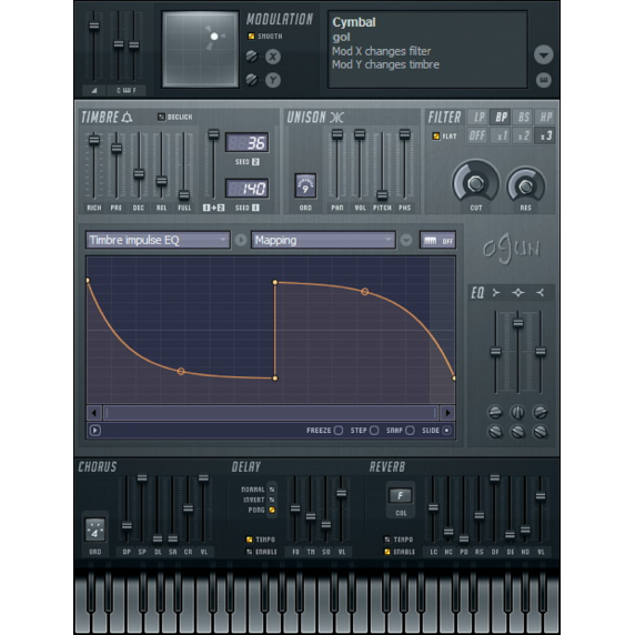 Image Line Ogun - Harmonic Synthesiser (Serial Download)