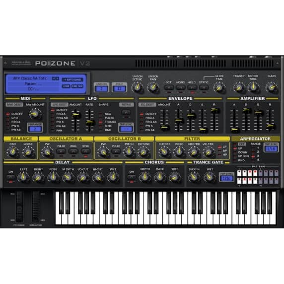 Image-Line PoiZone - Subtractive Synth (Serial Download)