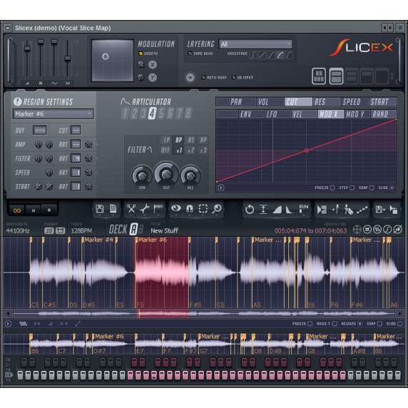 Image-Line Slicex - Beat Detection & Slicer (Serial Download)
