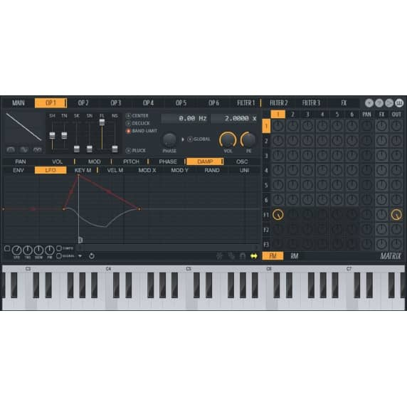 Image Line Sytrus - Hybrid Synthesiser (Serial Download)