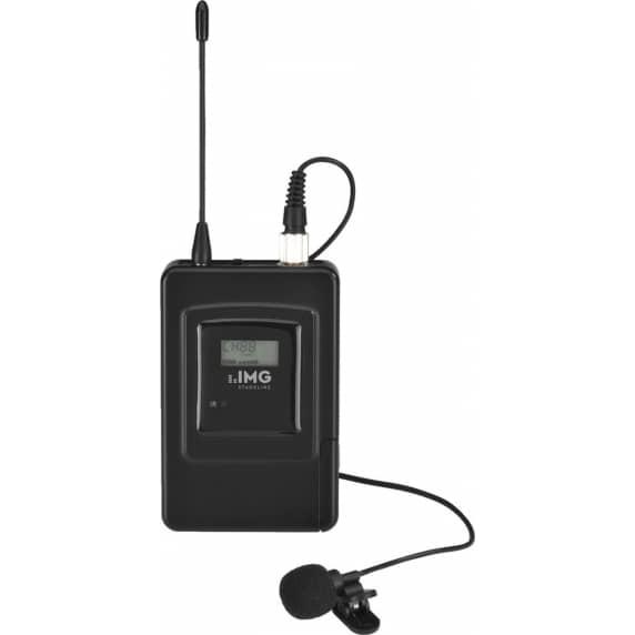 IMG Stageline TXS-606LT Wireless Lavalier Tie Clip Microphone