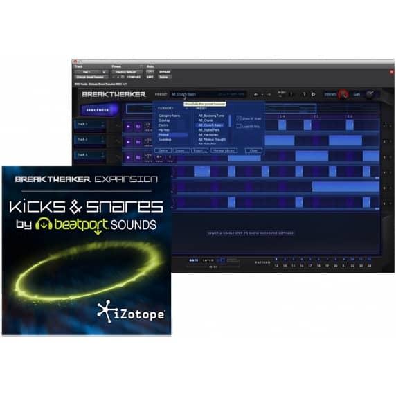 iZotope BreakTweaker Kicks & Snares Exp Beatport (Serial Download)