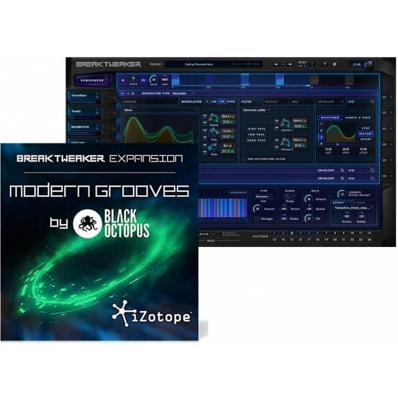 iZotope BreakTweaker Modern Grooves by Black Octopus (Serial Download)