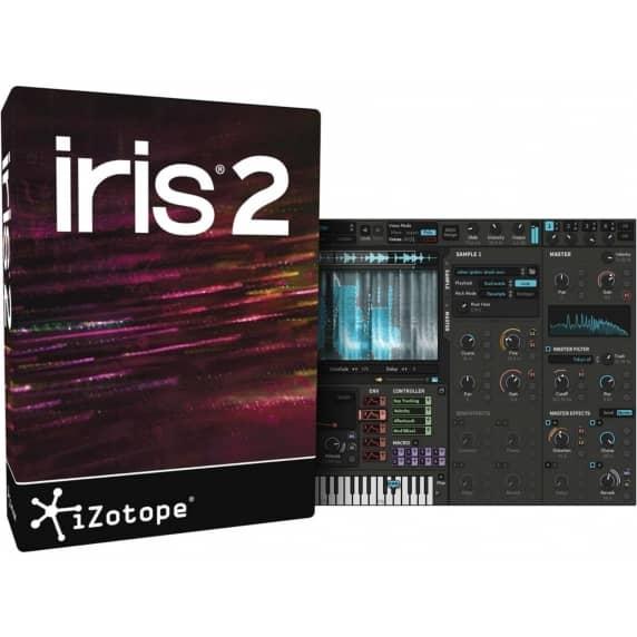 iZotope Iris 2 - Upgrade from Iris 1 (Serial Download)
