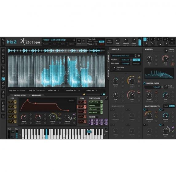 Izotope Iris 2 - Virtual Synthesizer Instrument (Download)