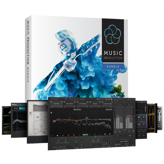 iZotope Music Production Bundle 2 EDUCATION (Serial Download)