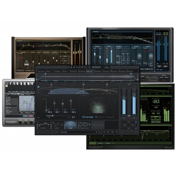 iZotope Music Production Bundle Upgrade from Ozone 1-6Adv (Serial Download)