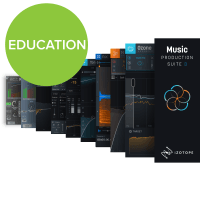iZotope Music Production Suite 3 EDUCATIONAL (Serial Download)