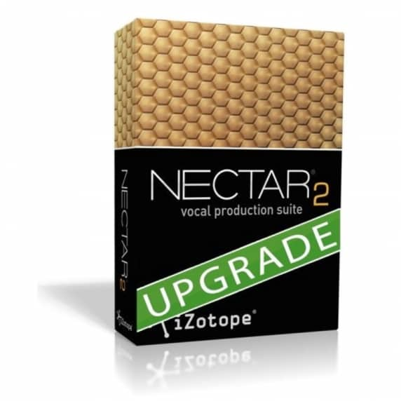 iZotope Nectar 2 Prod Suite Upgrade from Nectar 1 (Serial Download)