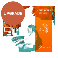 iZotope Neutron 3 Standard UPGRADE from Neutron 1-2 Standard (Serial Download)