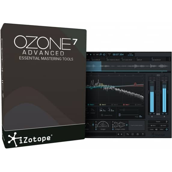 iZotope Ozone 7 Advanced Mastering Software (Serial Download)
