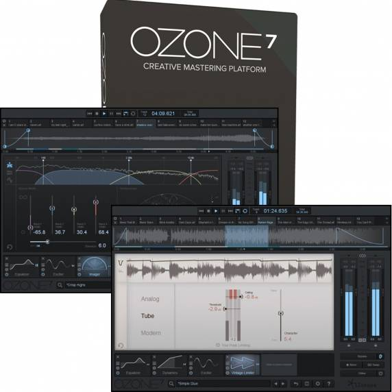 iZotope Ozone 7 Mastering Software (Serial Download)