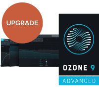 iZotope Ozone 9 Advanced UPGRADE from Ozone 5-8 Standard (Serial Download)