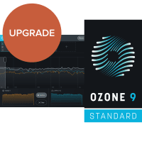 iZotope Ozone 9 Standard UPGRADE from Ozone 5-8 STD or ADV (Serial Download)