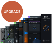 iZotope Post Production Suite 4 UPGRADE from RX 1-7 Standard (Serial Download)