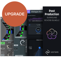 iZotope Post Production Surround Reverb Bundle UPG from Dialogue Match (Serial Download)