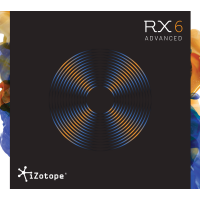 iZotope RX 6 ADV Upgrade from RX1-5 ADV (Serial Download)