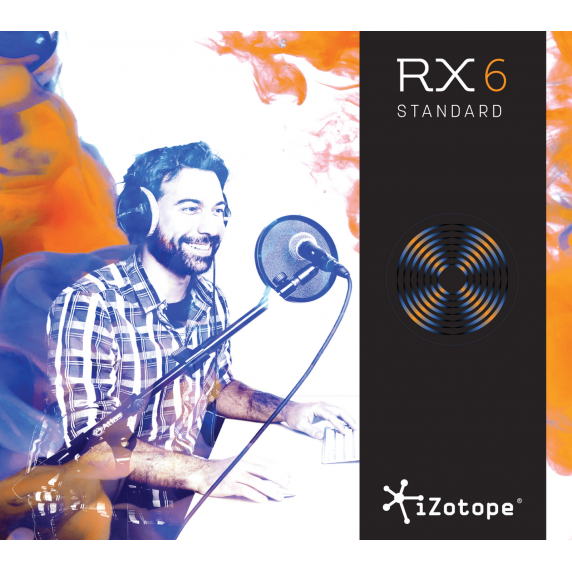 iZotope RX 6 STD Upgrade from RX 1-5 STD (Serial Download)