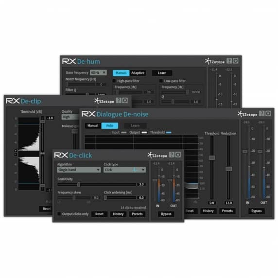 iZotope RX Plugin Pack (Serial Download)