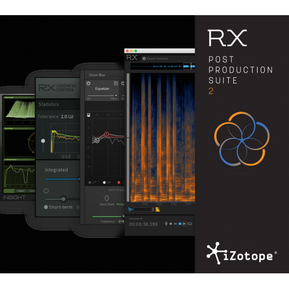 iZotope RX Post Production Suite 2.1 EDUCATION (Serial Download)