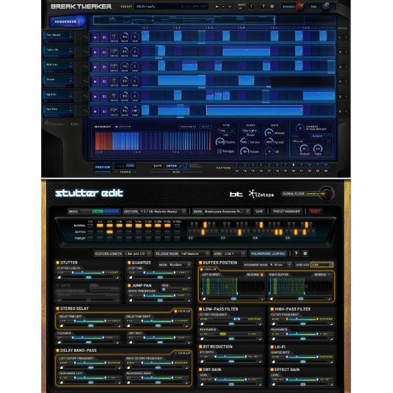iZotope Stutter Edit & BreakTweaker Bundle (Serial Download)