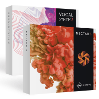 iZotope Vocal Bundle - Vocal Synth 2 & Nectar 3 (Serial Download)